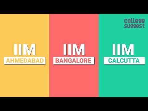 IIM Ahmedabad Vs IIM Bangalore Vs IIM Calcutta - Battle For The Best B-School In India - 2019