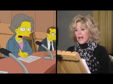 Check Out Jane Fonda as Mr. Burns' New Girlfriend on 'The Simpsons'