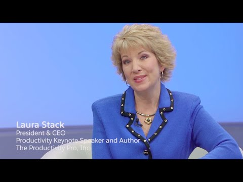 Effectiveness and Efficiency Why Successful Leaders Do Both with Laura Stack, The Productivity Pro,
