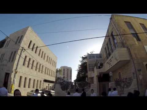 [POV] Iron Dome Intercepts Hamas Rockets Fired Over Jerusalem, Israel [HD]