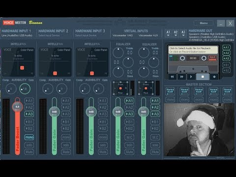 Virtual Audio Mixing via Voicemeeter (Voicemeeter Banana Tutorial