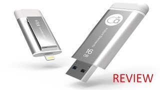 Adam Elements iKlips MFI Certified Lightning and USB 3.0 16GB Flash Drive Review