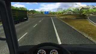 Euro Truck Simulator : episodul 1 partea 2(calatorim prima oara in lume)
