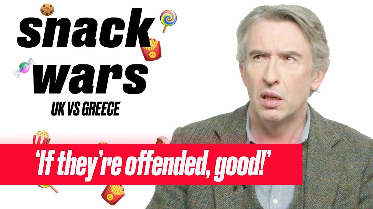 Steve Coogan Rants During Snack Wars | Snack Wars | LADbible