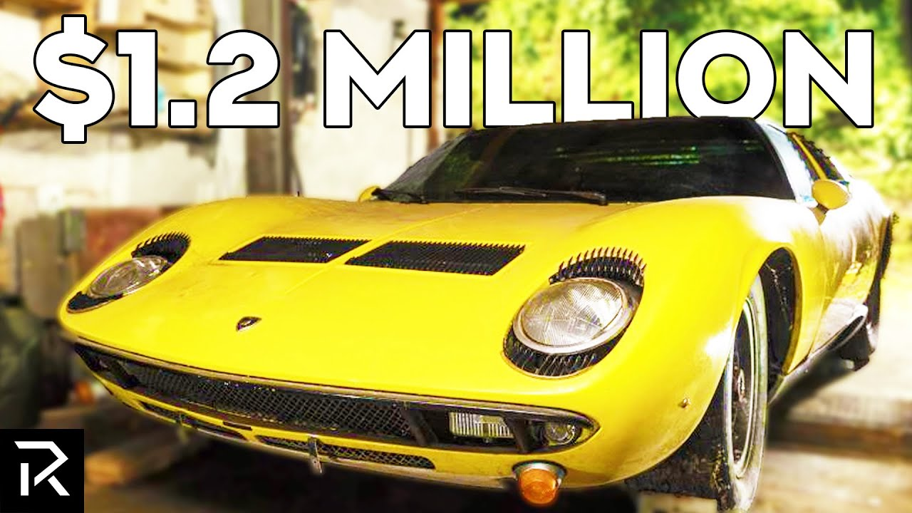 This Abandoned Lamborghini Sold For $1.2 Million