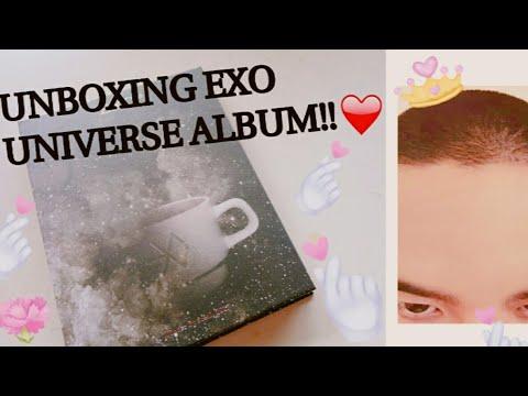 UNBOXING!! EXO UNIVERSE ALBUM!! I GOT .. ...