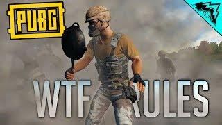 PUBG - WTF RULES (Demolition Derby, Ironsight Sniper, Pistol ONLY)