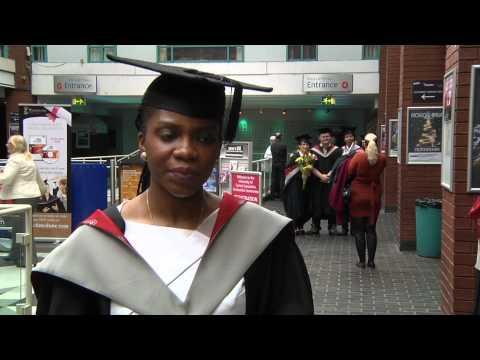 Ehis Ikpea, BA (Hons) Business Administration - UCLan International Graduates 2012