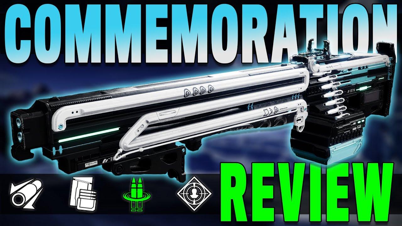NEW Deep Stone Crypt Raid LMG Has An INSANE Perk - Commemoration Review | Destiny 2 Beyond Light