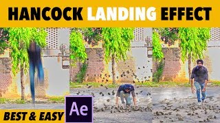 Hancock Landing Effect | Super Easy and Best | After Effects VFX Tutorial | Raj Angad vines