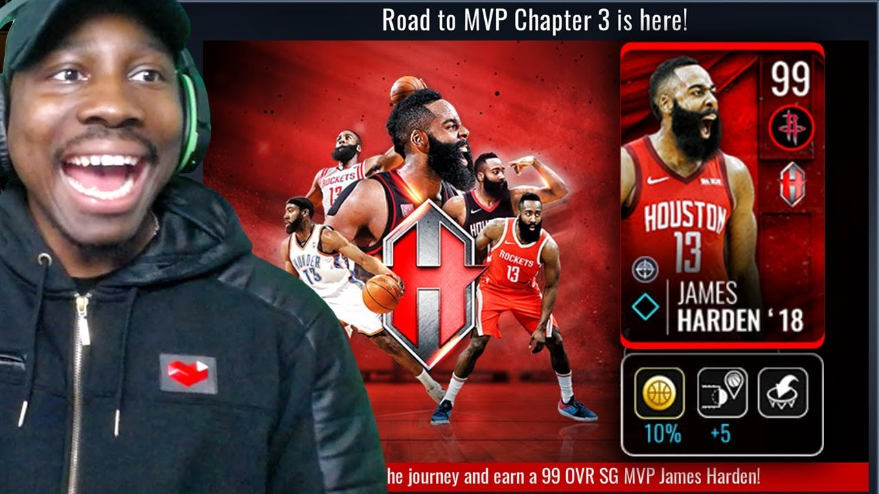 b8dc19cb7f8a EXCLUSIVE 99 OVR ROAD TO MVP JAMES HARDEN! NBA Live Mobile 19 Season 3 Ep.  52