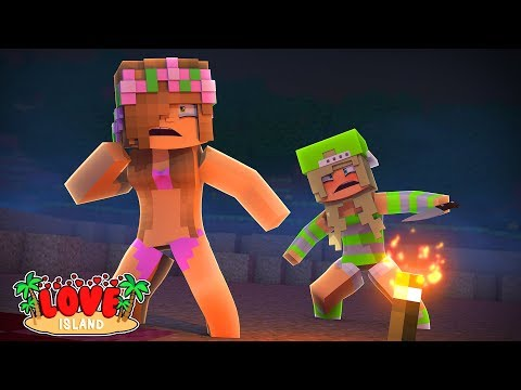 CRAZY PSYCHO NEW GIRL TURNS INTO A KILLER! Minecrfat Love Island   Little Kelly