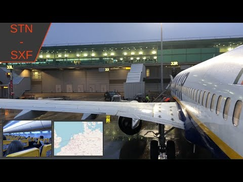 TRIP REPORT | London Stansted to Berlin Schönefeld | Ryanair | FR8542 | Boeing 737-800 | STN - SXF