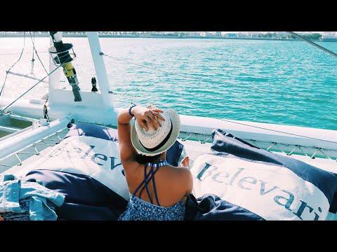 Island Cruise with Belevari Marine ( Al Hijab Island) Abu Dhabi UAE   Vlog 11  Joan Farillon