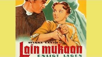 Lain mukaan (1956) Trailer