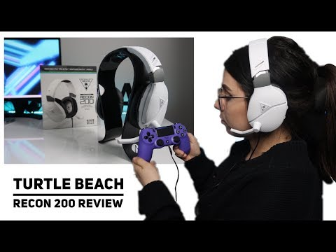 Turtle Beach Recon 200 Gaming Headset Review | Liessshy