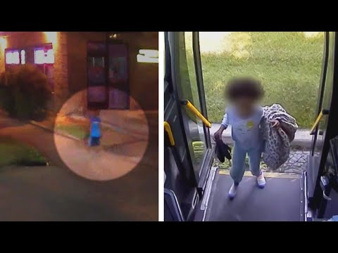 Kristina - 2  Bus Drivers Find Lost Children on Same Day