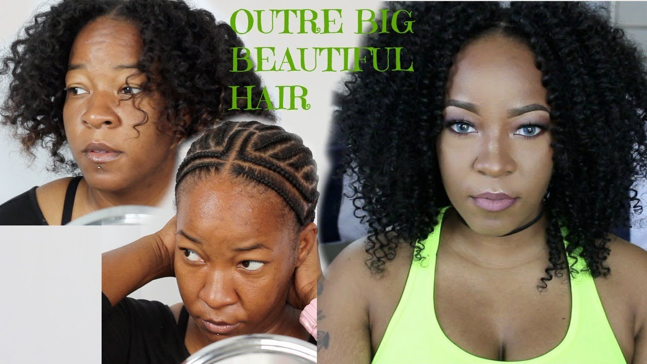 Protective Styles Curly Hair From Start To Finish Youtube