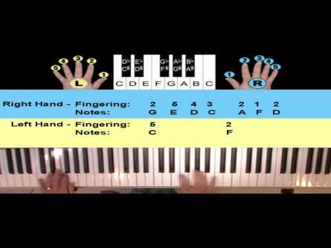 How To Play The Christmas Carol Marys Boychild on Piano or Keyboard