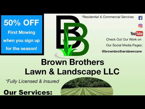 Lawn Care Flyer (The Most Effective Lawn Care Flyer) 2018 - YouTube