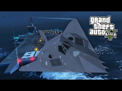 GTA 5 PC Mods - REAL LIFE ARMY MOD! GTA 5 F-117 Nighthawk & M1116 Humvee Mod! (GTA 5 Mod Gameplay)
