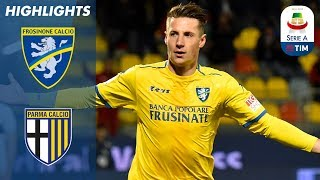 Frosinone 3-2 Parma | Frosinone overcome Parma with a last minute goal! | Serie A