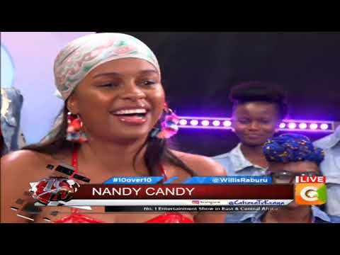 10 OVER 10 | The African Princess, Nandy, performing live on 10over10