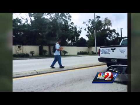 Is panhandling in Central Florida illegal?