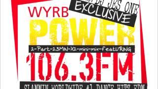DJ JES ONE ON ROCKFORD IL.,POWER 106.3 FM SAT.NIGHT.LIVE MIX SHOW.. EXCLUSIVE MIX by DJ JES ONE