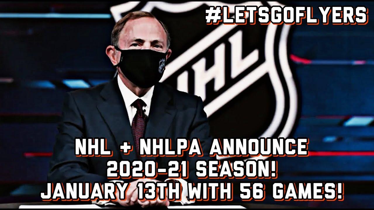 Nhl Nhlpa Agree On The 2020 21 Season Flyers Hockey Is Coming Back Letsgoflyers Youtube