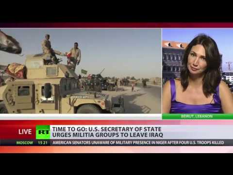 Over & Out: US Secretary of State urges militia groups to leave Iraq