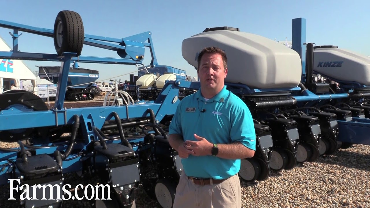 Kinze Prototype 60 Foot Split Row Planter Youtube