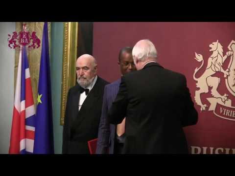 Europe Business Assembly (EBA) awarded Mr.Charles Raymond Snowden