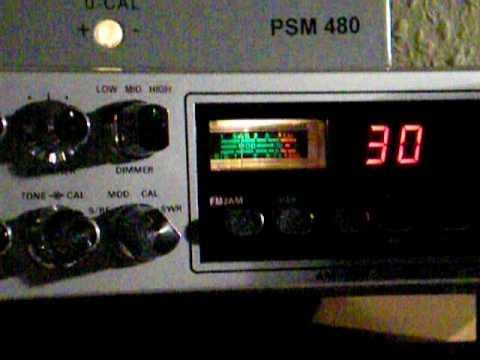 CB Funk USB Betrieb auf Kanal 30 mit President Adams