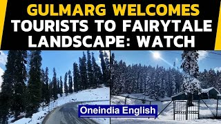 Kashmir's Gulmarg warms up to business in winter 2020 | Oneindia News