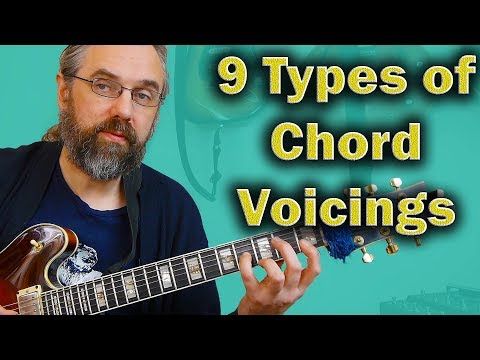 Jazz Chord Voicings   The 9 Different types you should know