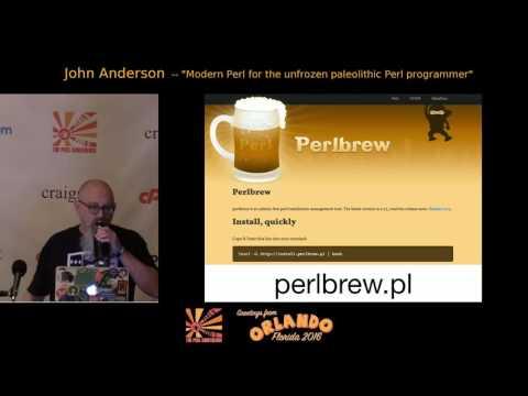 Modern Perl for the Unfrozen Paleolithic Perl Programmer