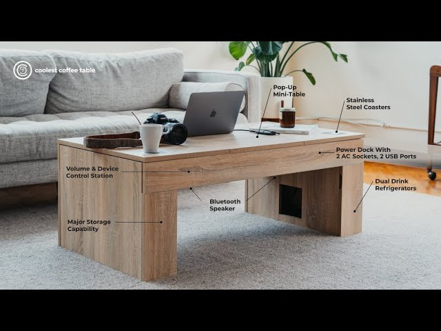 Coolest Coffee Table (Oak) video thumbnail