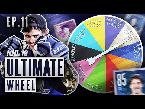 ULTIMATE WHEEL - S2E11 - NHL 18 Hockey Ultimate Team