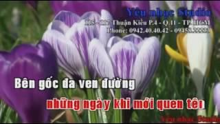 karaoke Huong Toc Ma Non Song Ca Voi Minh Dung