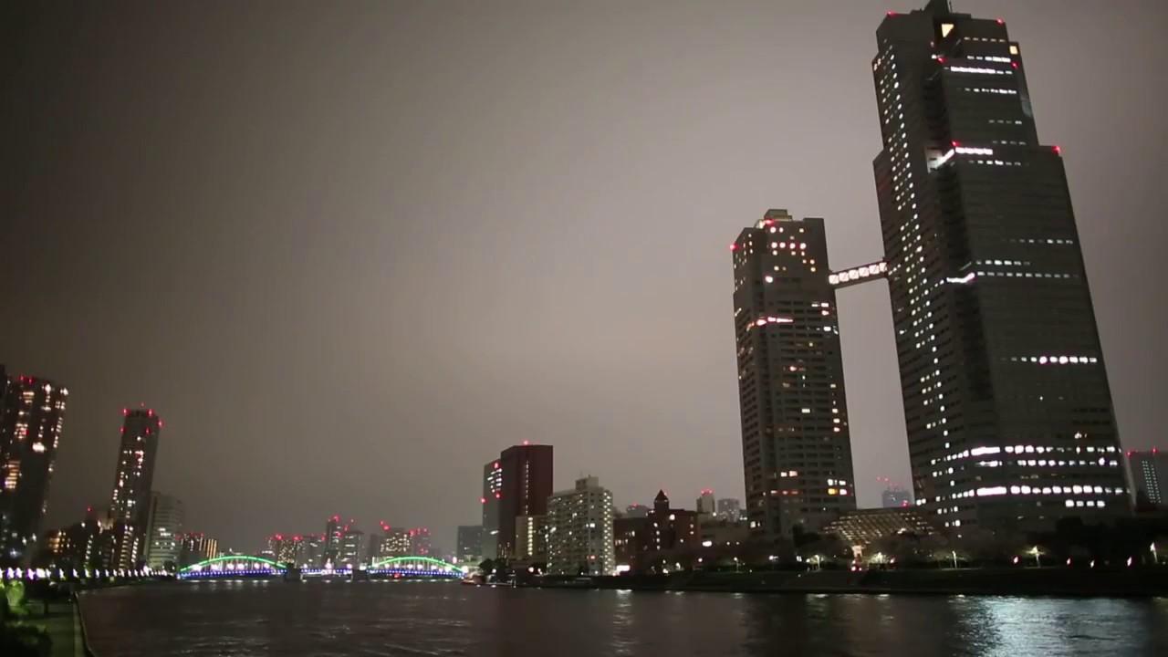 TOKYO Chiyoda City Sumida City Bunkyo City night views 東京 千代田区 墨田区 文京区からの夜景