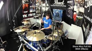 My Pearl Session Studio Classic - Kit Tour & Sound Test