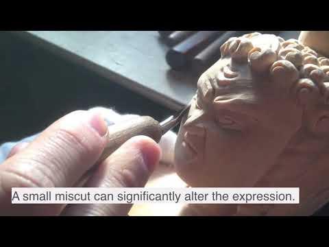 Japanese Woodwork 仏師   Japanese Buddhist Statues