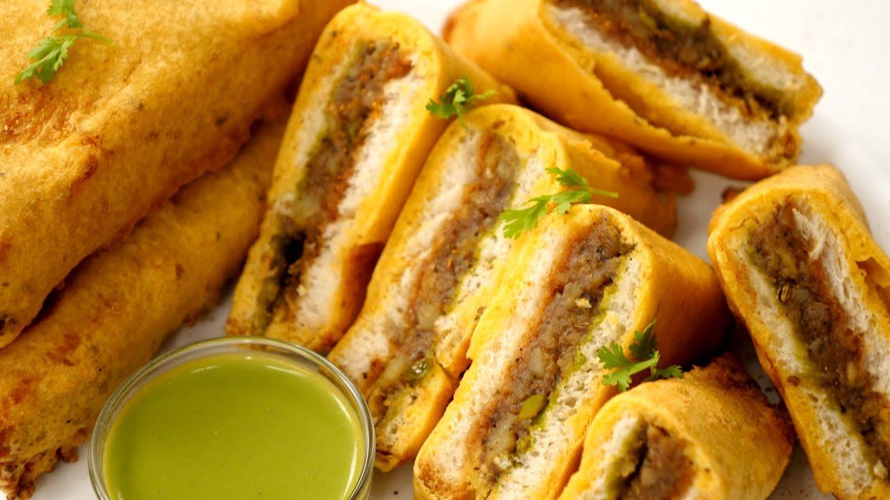 ब्रेड पकोड़ा बनाने की विधि - Bread Pakoda Recipe - CookingShooking