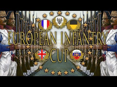 European Infantry Cup 💂 28th vs 18e 💂 Mount and Blade Napoleonic Wars [EIC/Deutsch/German/HD]