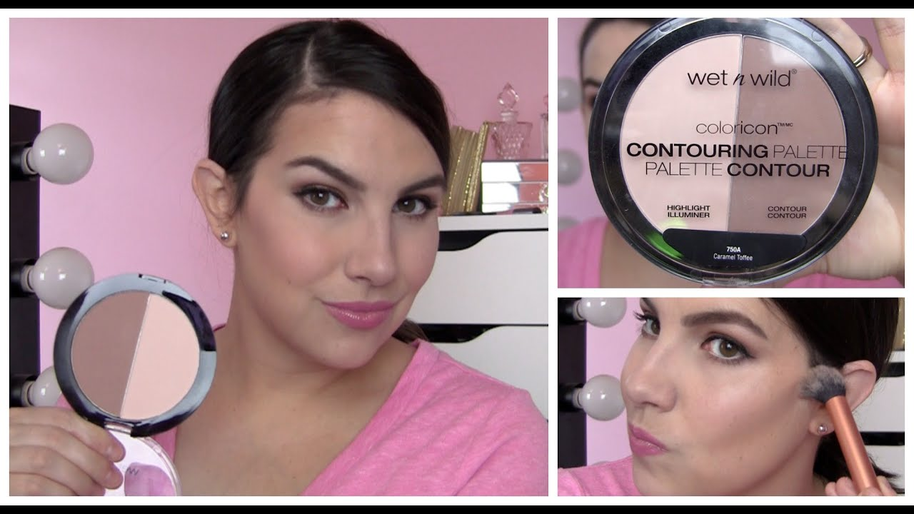 Wet N Wild Color Icon Contouring Palette Review Youtube
