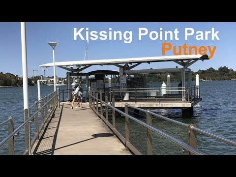 Kissing Point Park  - Putney - Beautiful Park Along The River, Great Fishing Spot For Dad