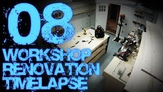 08. Workshop Renovation Timelapse 08 - Final Reveal 04 (air Cleaner, Compressor & Shop Vac Systems)