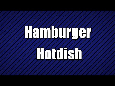 Hamburger Hotdish - MY3 FOODS - EASY TO LEARN