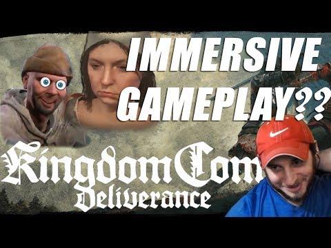 Kingdom Come Deliverance Immersive Gameplay?   Justin Plays  